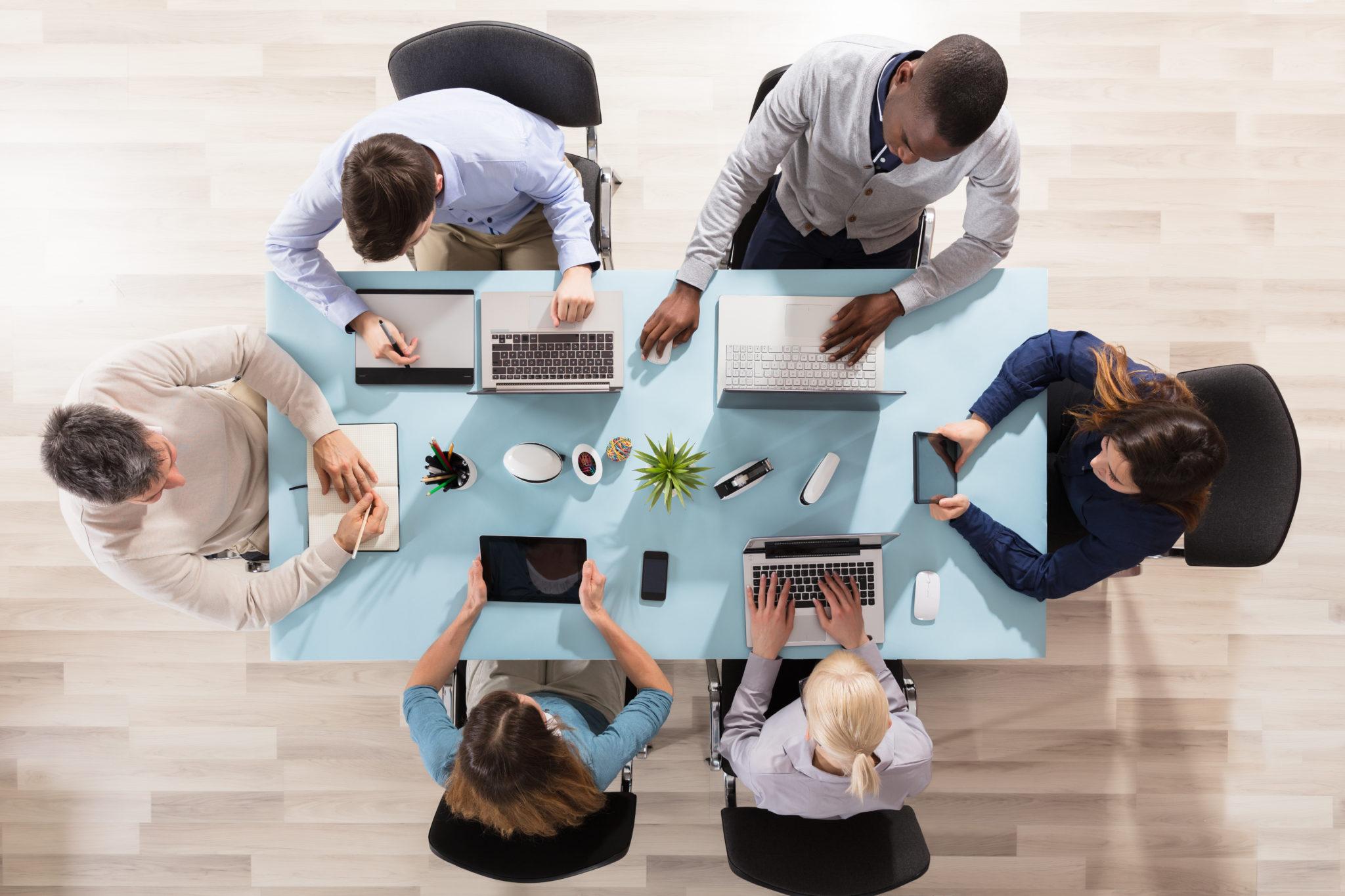 Mobiele productiviteit bereik je door een goede samenwerking en communicatie