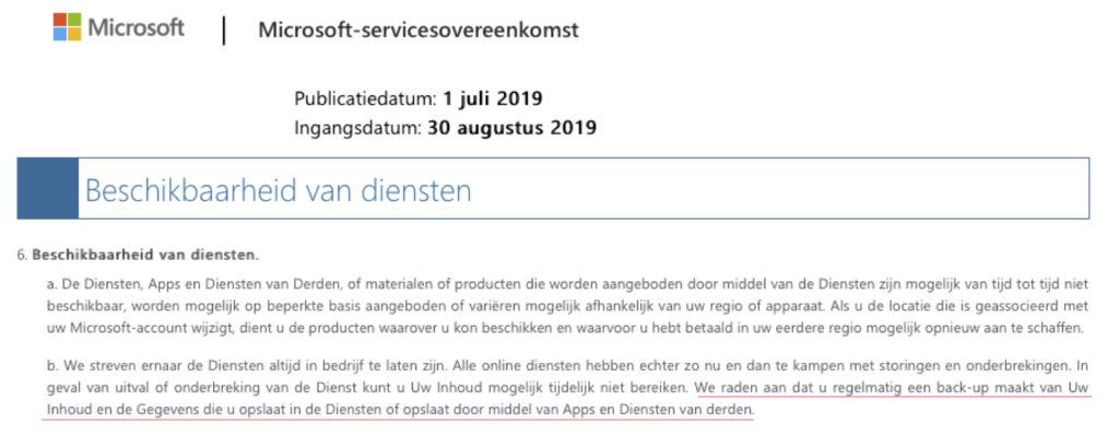Msoft Service ovk 2019